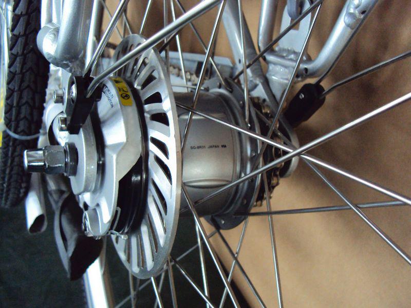 Roller brake posteriore