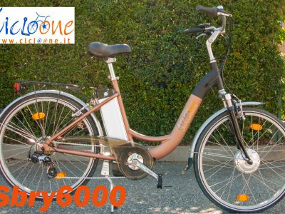 Bici Sbry6000 city bike colore nero bronzo