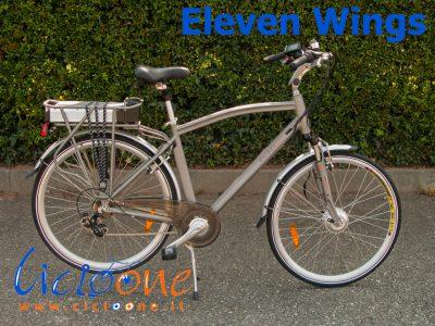 Bici a pedalata assistita Eleven Wings