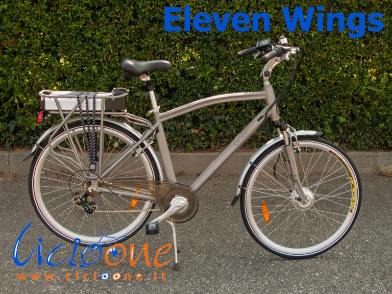 Bici a pedalata assistita Eleven Wings