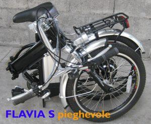 Forcella ammortizzata bici pieghevole Flavia S