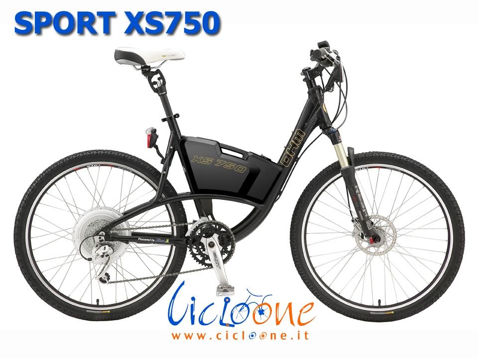 Emtb ibrida sistema BionX Sport XS750