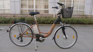 sbry6000 city bike ruota 26 con cestino