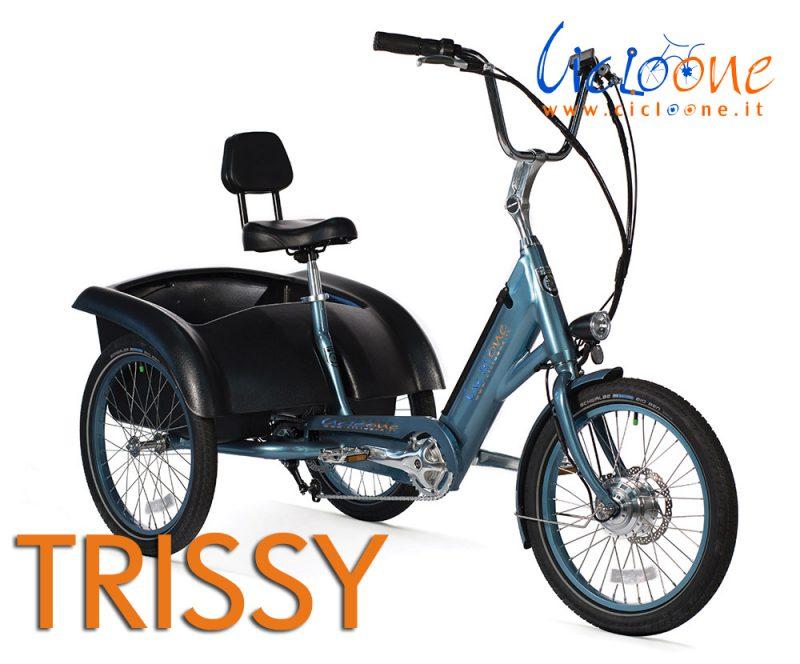 Il nuovo modello del triciclo Trissy