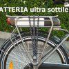 Bicicletta elettrica Amy batteria ultra sottile