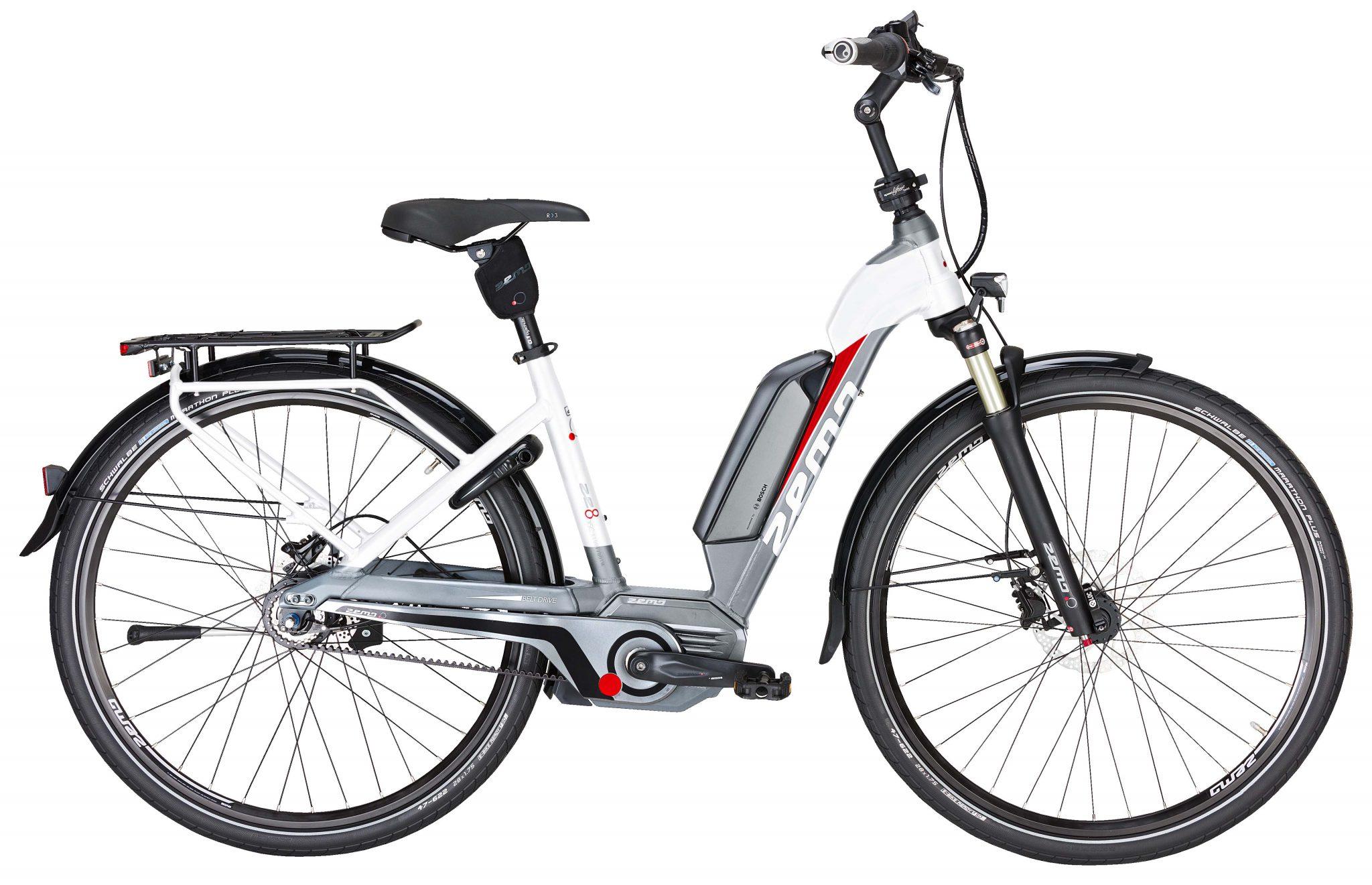 Zemo 8 Disc Lady City Bike da Donna telaio Onda motore Bosch