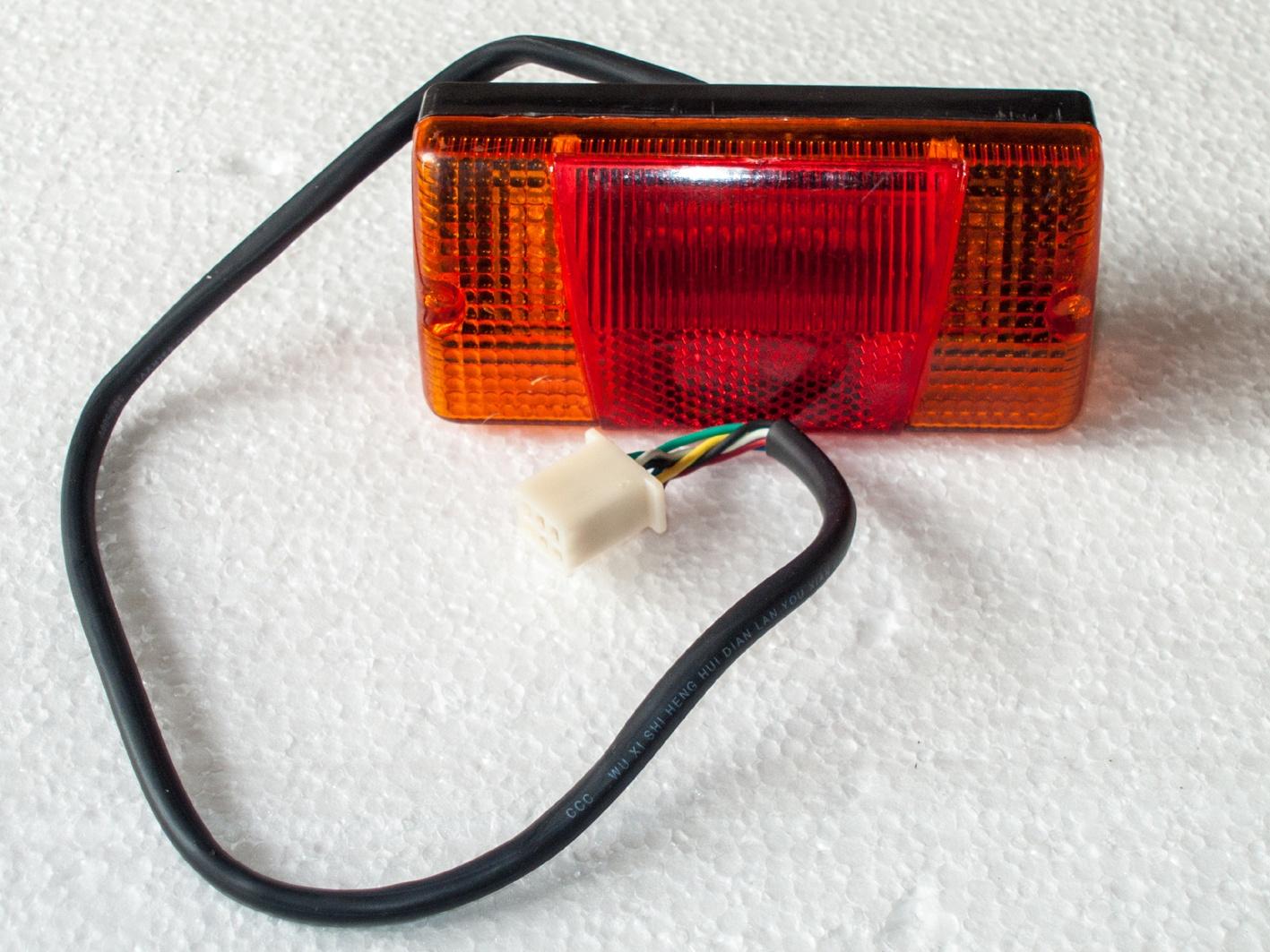 Luce posteriore stop e indicatori di direzione