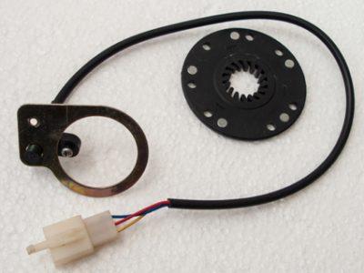 Sensore pedalata assistita 5 magneti con attacco