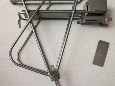 portapacchi posteriore porta batteria centralina attacco fanale
