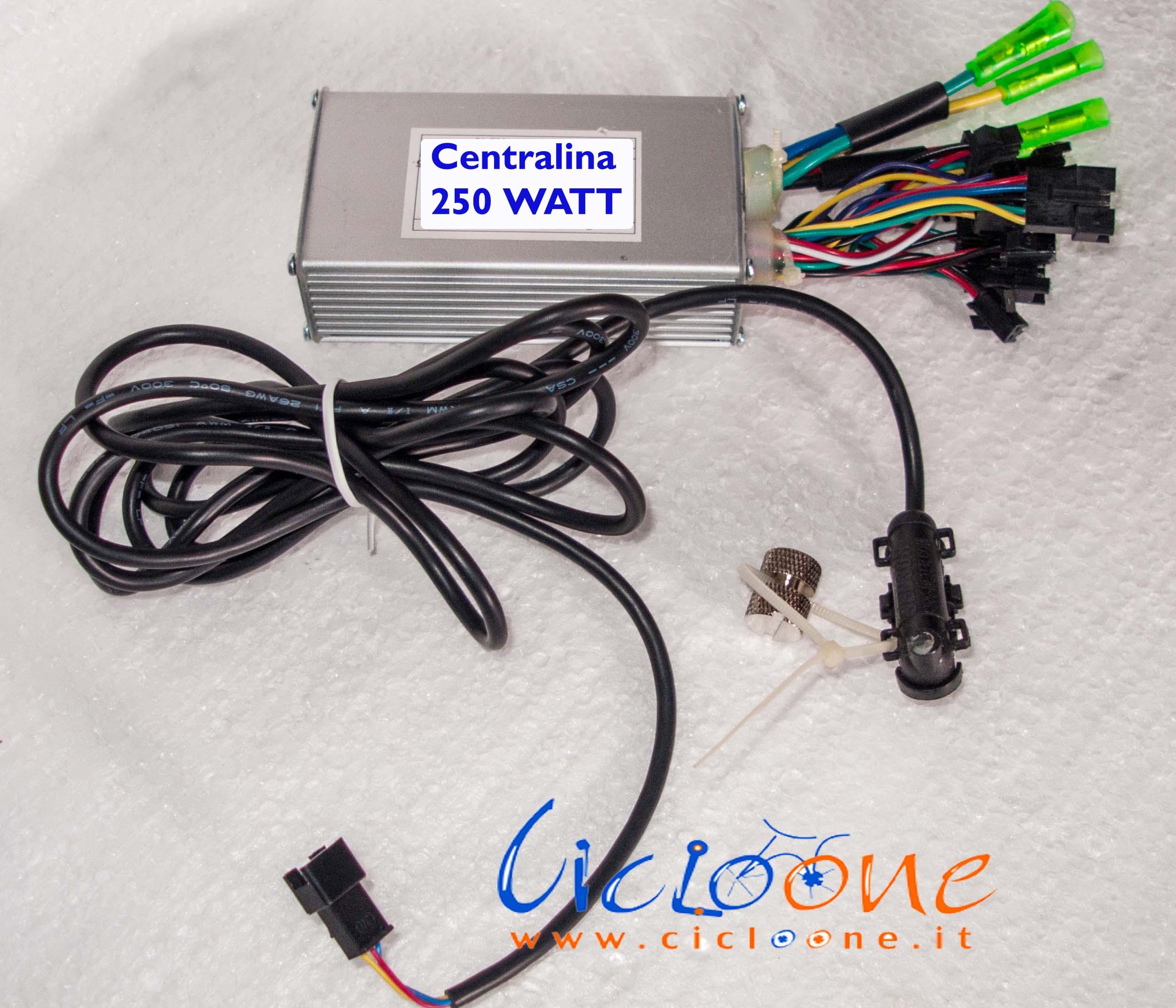 centralina 36V 15A con sensore velocità