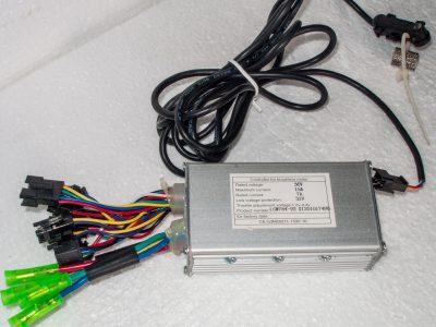 centralina 36V particolae attacchi sensore ruota giri odometro
