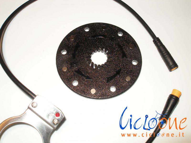 sensore pedalata assistita 6 magneti dual pulse