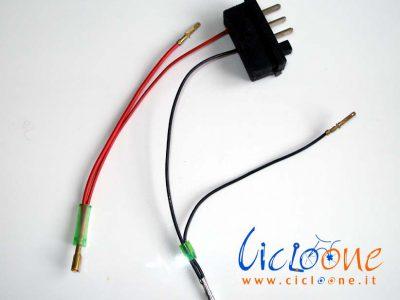attacco batteria al telaio bici elettriche