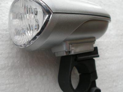 Led fanale anteriore a batteria con anello manubrio