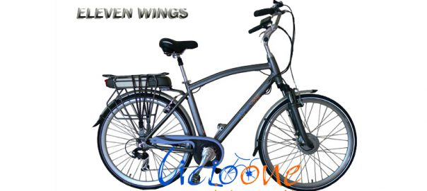 City bike da uomo Eleven Wings