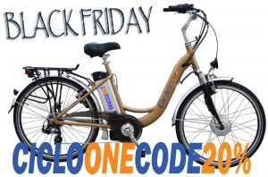 City ebike Sbry6000 Black Friday sconto