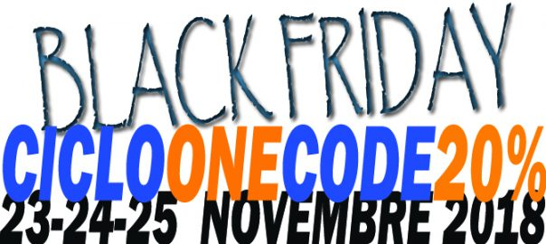 Sconto 20 ebikes Black Friday Cicloone