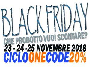 Black Friday 23 Novembre - Richiedi il tuo Codice Sconto20% 1