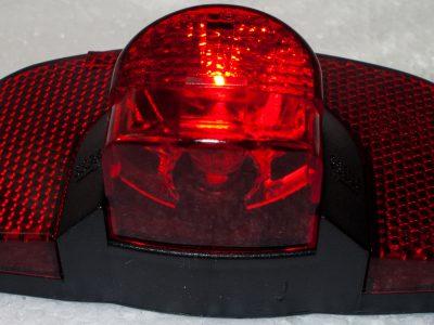 Faro fanale rosso posteriore stop 36V