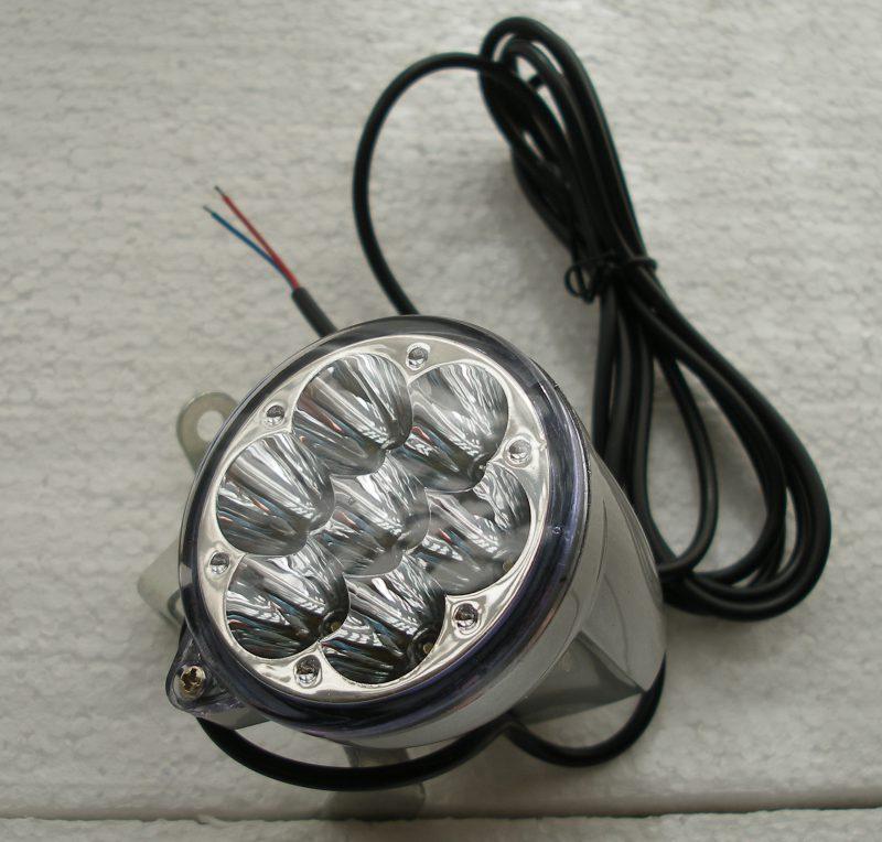 luce anteriore a 7 led biciclette elettriche