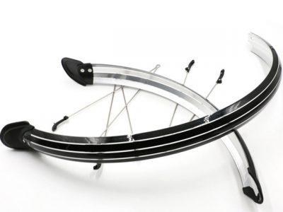 Parafanghi fronte e retro bici elettrica 26