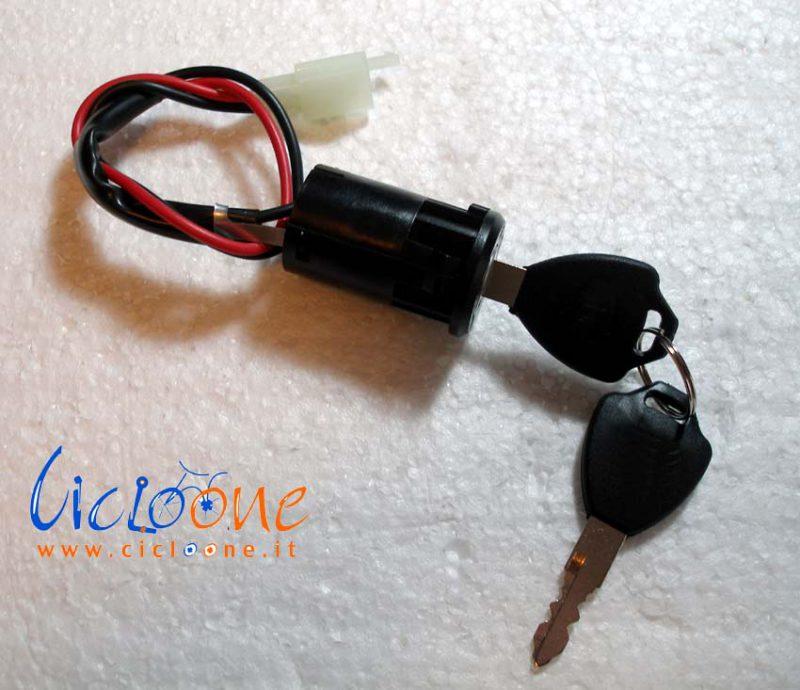 Karting electrombile AVT Keenso Moto davviamento SwitchUniversal per Il motorino Biciclette Pieghevoli YZLSM 2 Fili di accensione Chiave Interruttore di Blocco