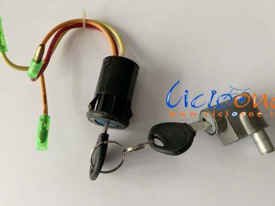 chiavi blocco sicurezza accensione bici tre fili