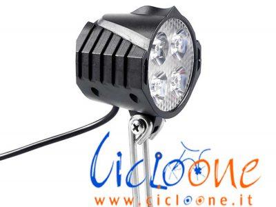 luce led bici alimetata batteria 48V
