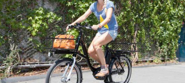 bici elettrica per spesa