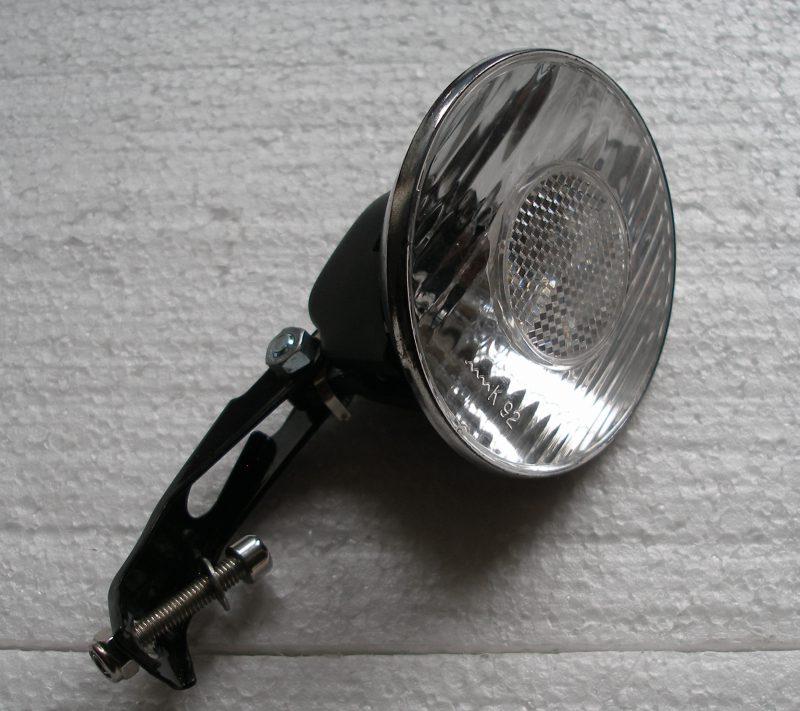 Fanale anteriore con lampadina da 36V 5 Watt