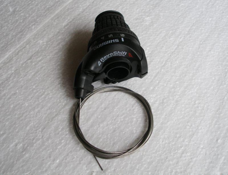 revoshift Shimano gomma nero