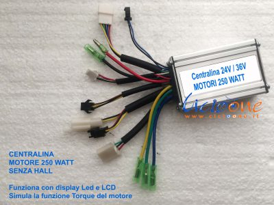 centralina 36V torque sensorless