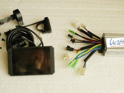 centralina sensorless con display a colori