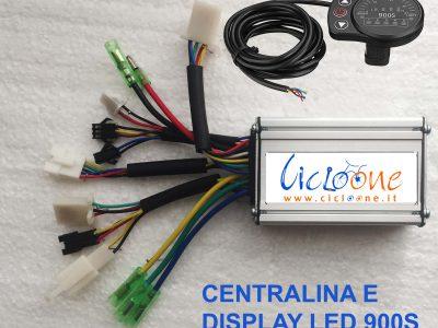 centralina 36V 250W display led 900S