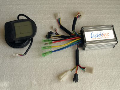 centralina con mini display lcd multifunzione