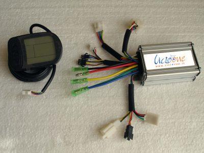 centralina con mini display lcd multifunzione