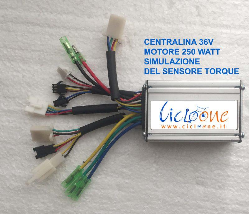 centralina controller sinusoidale sensore torque