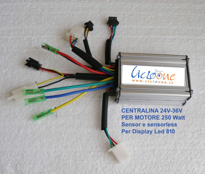 centralina torque sensor sensorless