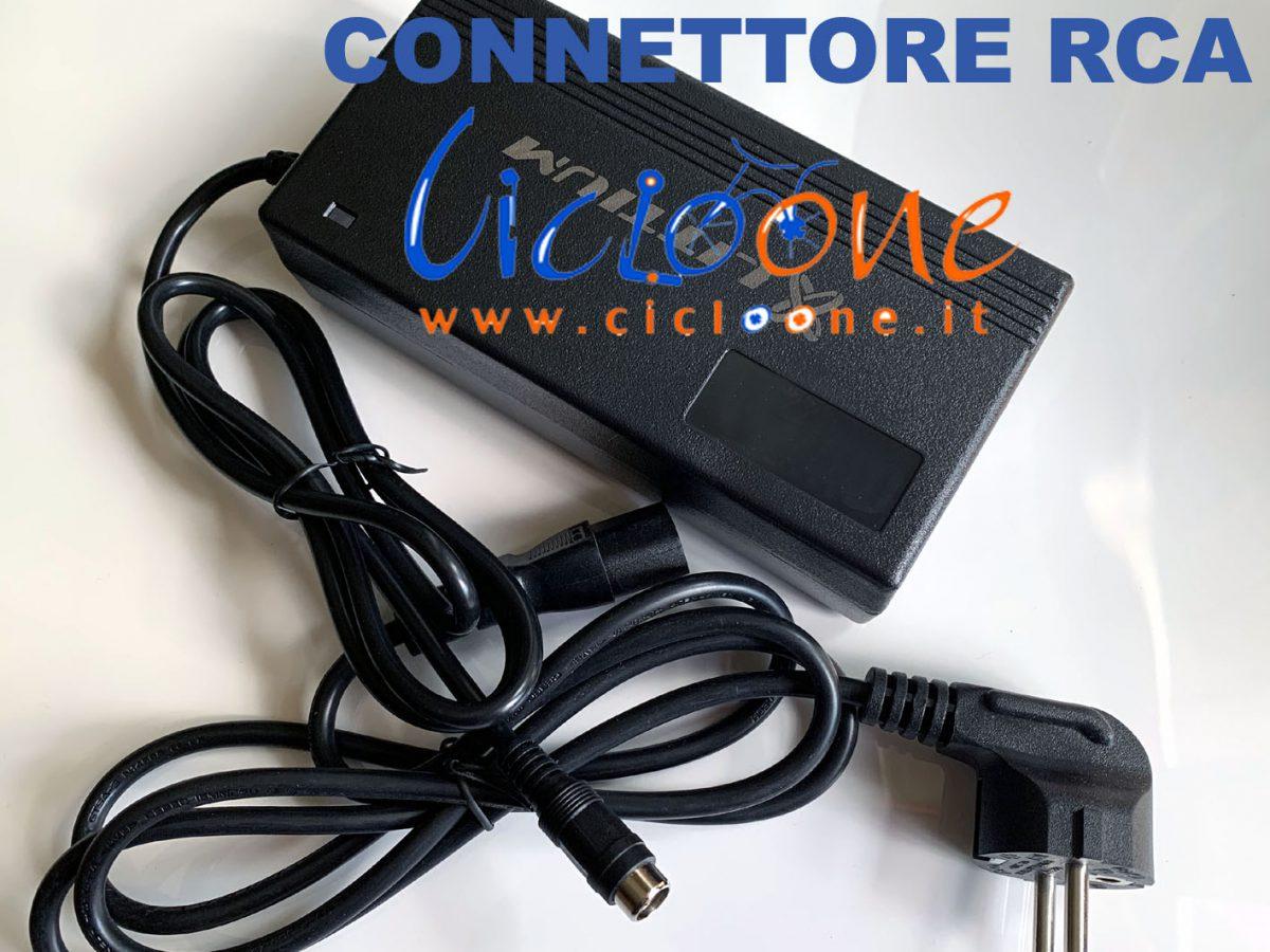 Caricabatteria batterie litio 36V attacco RCA monopattino