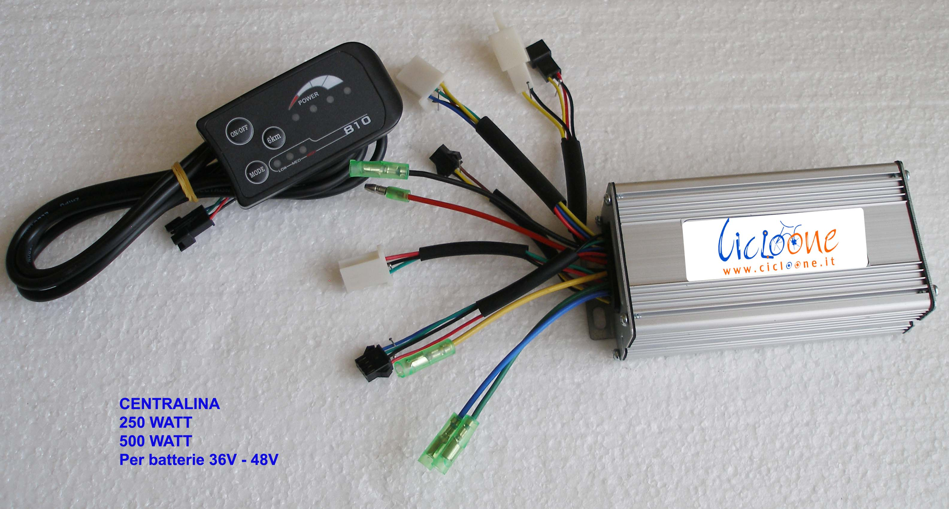 centralina sensor sensorless con display 810