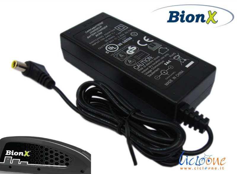 bionX caricabatterie 48V speciale attacco XLR
