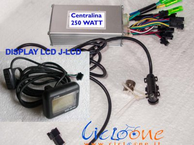 kit centralina display lcd odometro