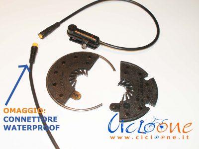 sensore di pedalata connettore waterproof