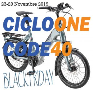 sconto 40 euro black friday cicloone