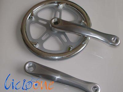 guarnitura 48 denti in alluminio per bici elettriche