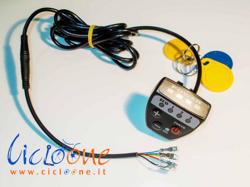 led display con funzione chiave allarme