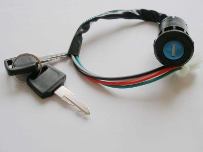 serrattura blocchetto accensione bici elettrica