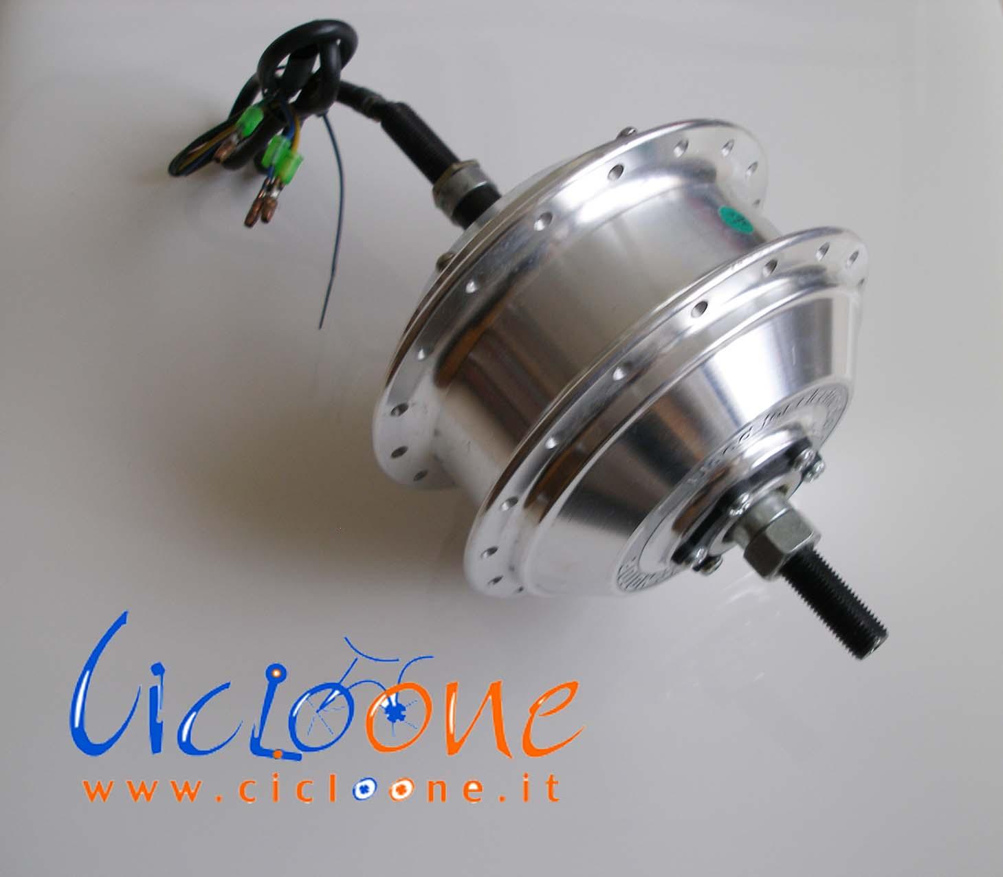 ebike motore posteriore per freno disco