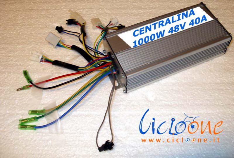 centralina bici 1000W 40A 36-48V