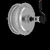 Bafang motore piccolo posteriore potente argento